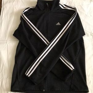 Black men's adidas jacket
